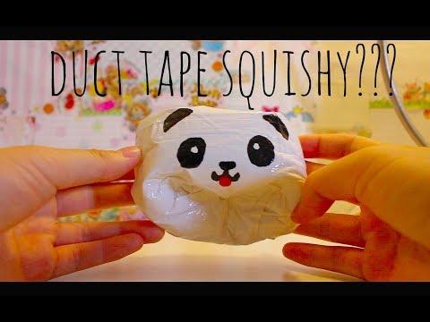 DIY duct tape squishy