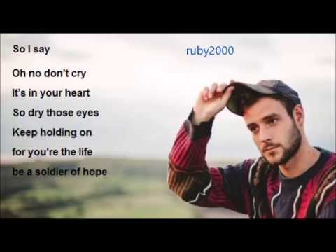 Roo Panes Soldier of hope Lyric video