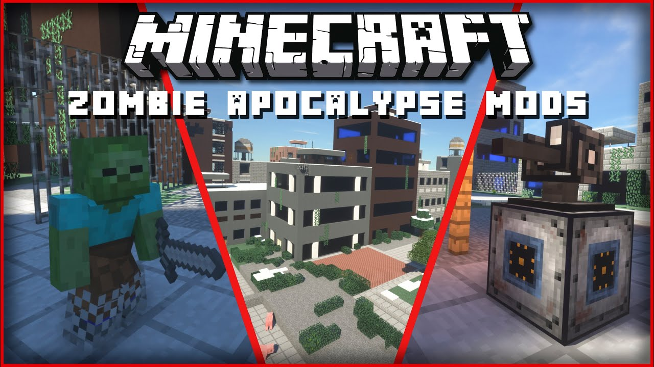 10 Mods to Turn Minecraft into a Zombie Apocalypse Survival Game