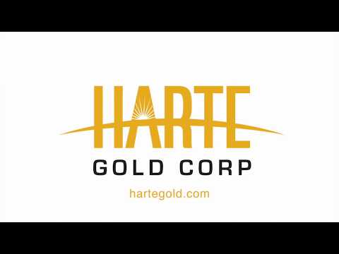 Site Visit - Harte Gold - gold stock to buy!