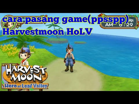 cara-pasang-harvestmoon-hero-of-leaf-valley-android(ppsspp)