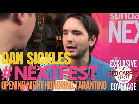 Dan Sickles #Dina interviewed at Sundance NEXT FEST opening night honoring Quintin Tarantino