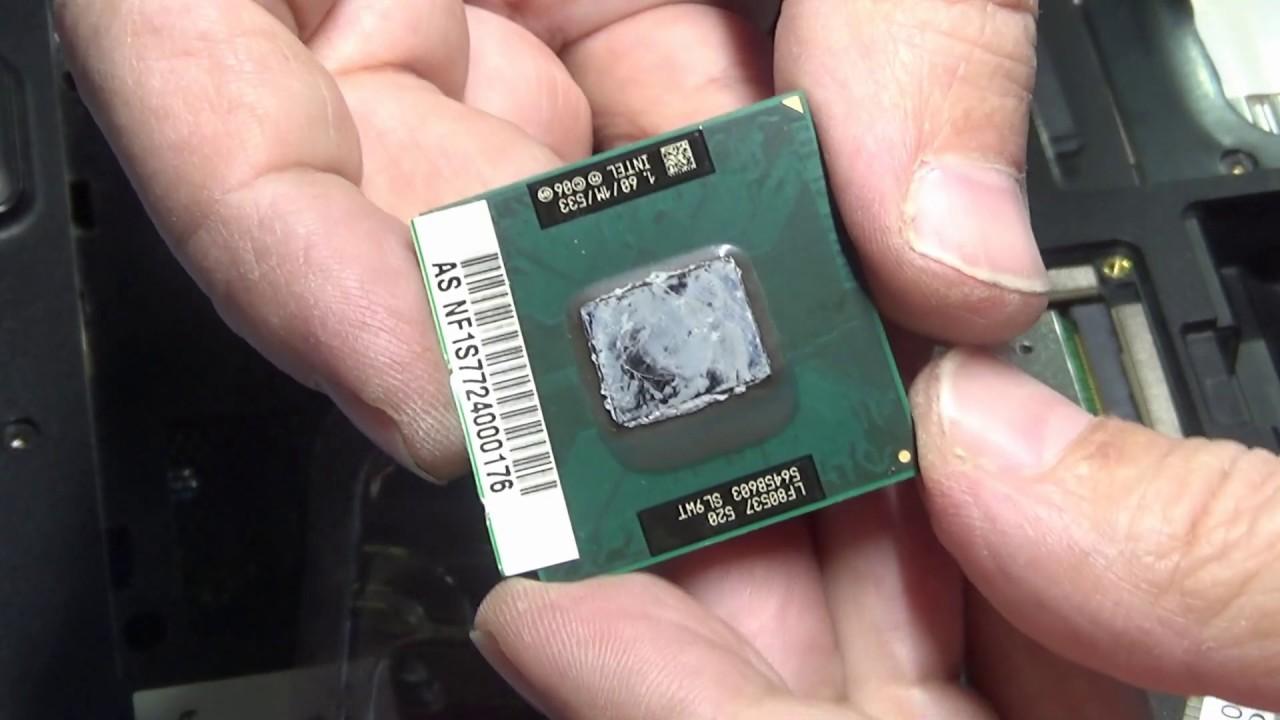 Как легко убрать старую термопасту с процессора
