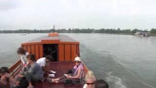 ベトナム チャウドックからプノンペンへ ボートで国境越え (ベトナム編)