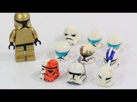 ClonetrooperX39 Original Custom LEGO Star Wars Clone Minifigures