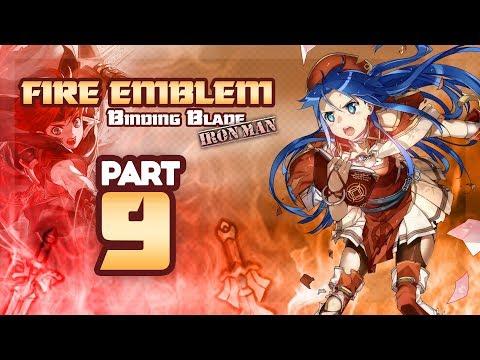 Part 9: Fire Emblem 6, Binding Blade, Hard Mode, Ironman Stream