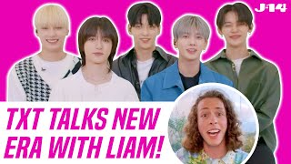 TXT Interview: TOMORROW X TOGETHER Talk The Chaos Chapter: FREEZE With Liam McEwan