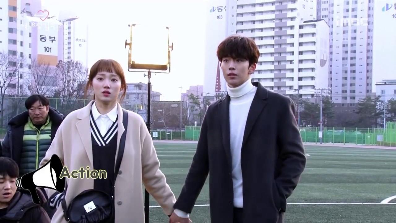 [BTS] Weightlifting Fairy Kim Bok Joo Ep.16 Making Film   Nam Joo Hyuk & Lee Sung Kyung