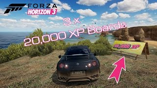 FORZA HORIZON 3 ||  Let's play || HUNTING XP BOARDS