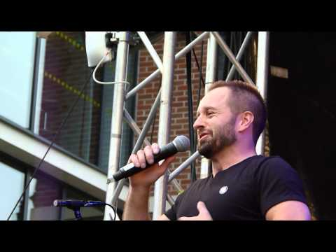 Alfie Boe (Electric Press) 'Against the Tide' ' Leeds 24.07.15 HD