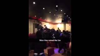 Cheddar Da Connect gets Robbed and Beat Down In NYC club