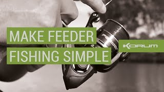 MAKE FEEDER FISHING SIMPLE with Chris Ponsford
