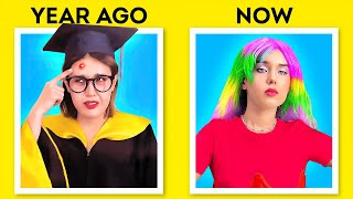 Year Ago VS Now || Incredible Beauty Transformations That Change Your Life!