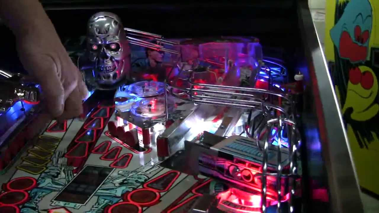 Terminator 2 Pinball T2 Red Eye Mod Add-On