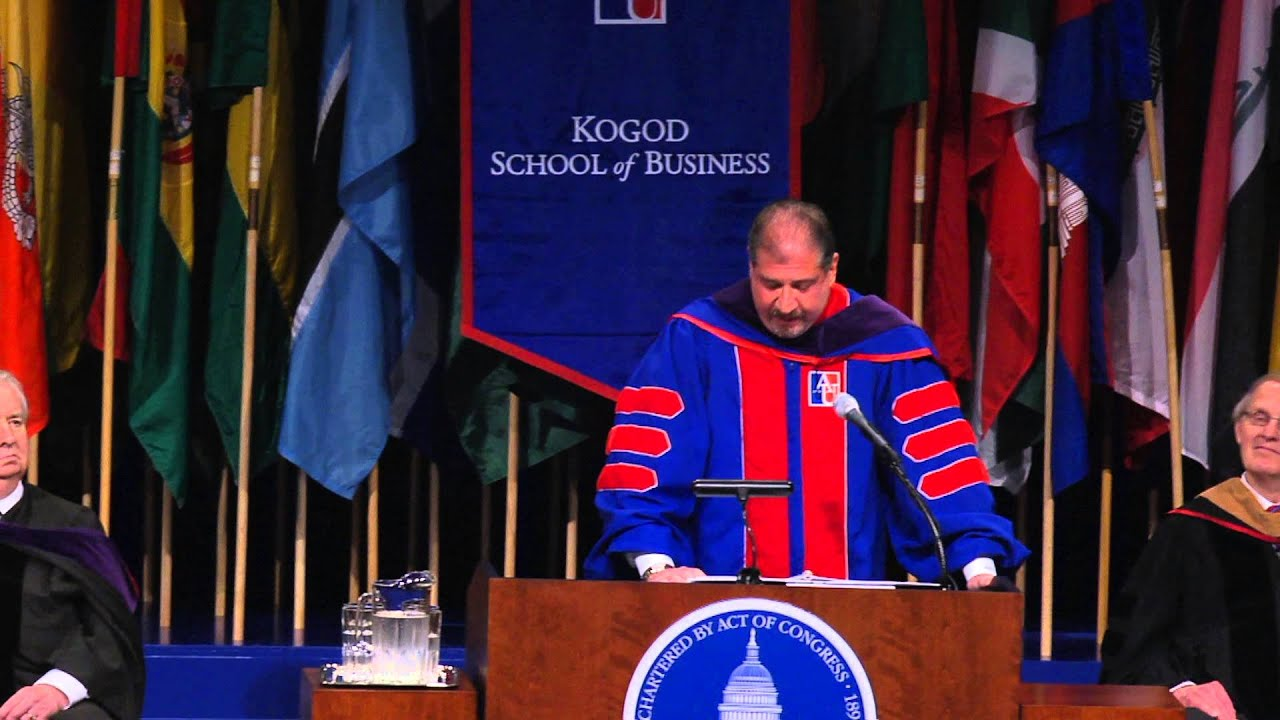 kogod commencement speaker mark a weinberger kogod commencement speaker mark a weinberger