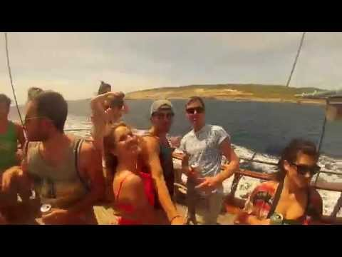 Malta Erasmus Boat Party 2nd of May 2015