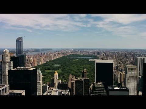 Daytime view from the Top of the Rock (Rockefeller Center, New York, USA)