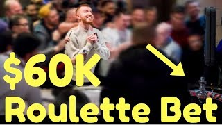 Poker Player Jake Cody Bet All his Poker Tournament Winnings on ONE Roulette Spin!