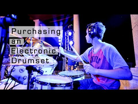 Purchasing an Electronic Drumset