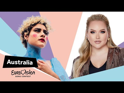 Eurovisioncalls Montaigne - Australia 🇦🇺 with NikkieTutorials