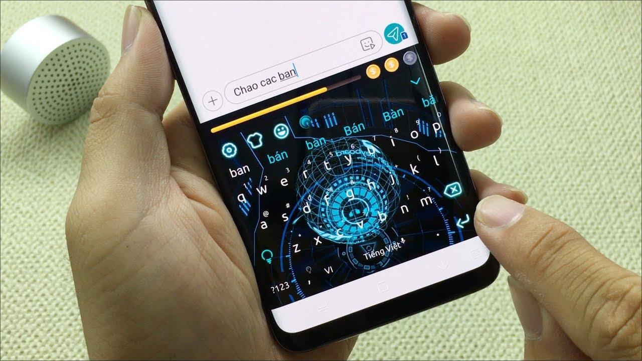 Cài bàn phím 3D trên điện thoại Android