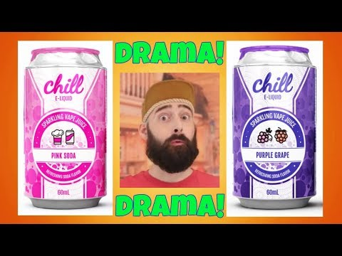CHILL E-Liquid Soda Can Drama!