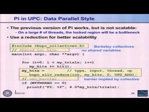 Partitioned Global Address Space Programming - Kathy Yelick