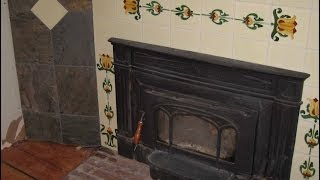 Gas Fireplace Tile Surround