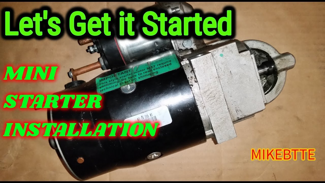 High Torque Mini Gear Reduction Starter for AMC /& Jeep