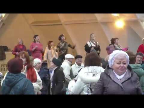 Я тебя ненавижу, но наверно останусь...Народные танцы,парк Горького,Харьков.