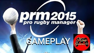 [PC] - Pro Rugby Manager 2015 - Gameplay
