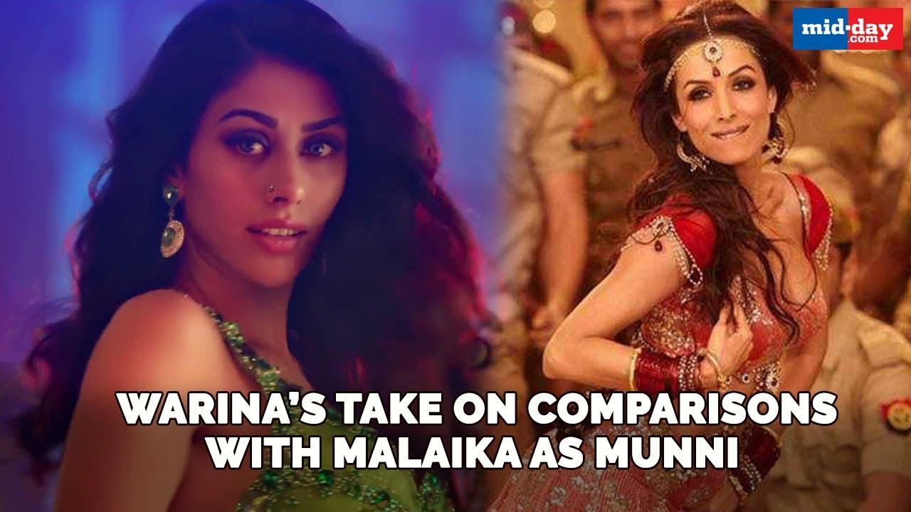 Dabangg 3: Warina Hussain's take on being compared to Malaika Arora as Munni