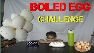 BOILED EGGS CHALLENGE | FOOD CHALLENGE INDIA (Episode - 01)