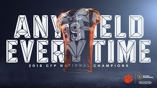 2016 CFP National Champions - Clemson Tigers