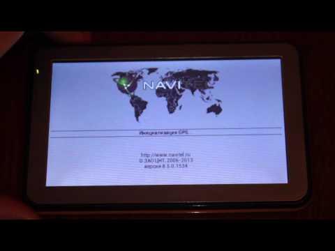 Установка карт Навител на GPS Windows CE 6 Navitel