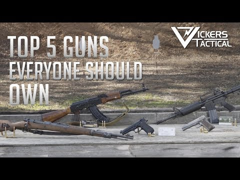 Larry Vickers Top 5 Guns to Own