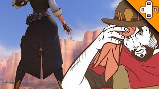 McCree's Face When Ashe Goes Live - Overwatch Funny & Epic Moments 665