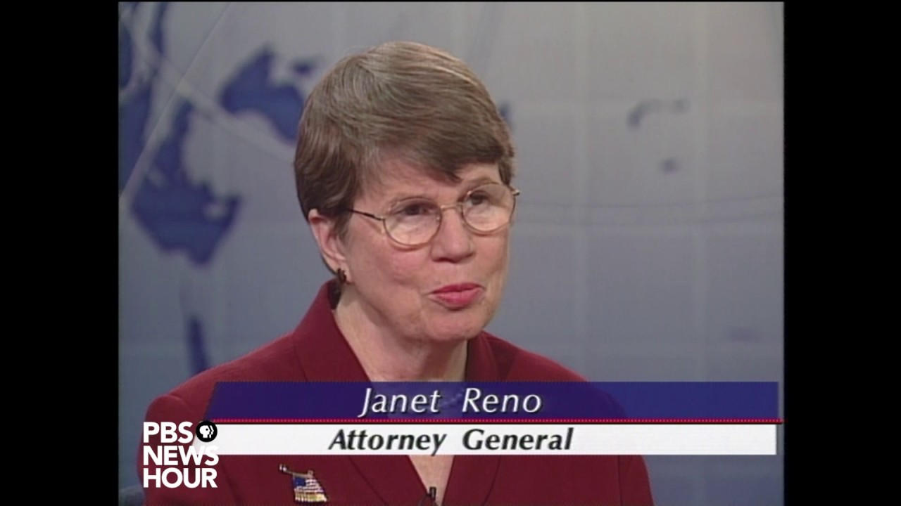 Janet Reno, first woman U S  attorney general, dies at 78