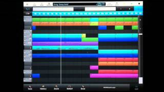 "NanoStudio iPad / iPhone song #6 ""Deep Field"" by Vincent Vermeulen"