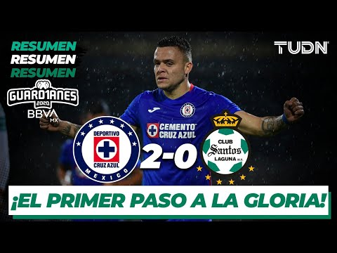Resumen y goles | Cruz Azul 2-0 Santos | Guard1anes 2020 Liga BBVA MX - J1 |TUDN