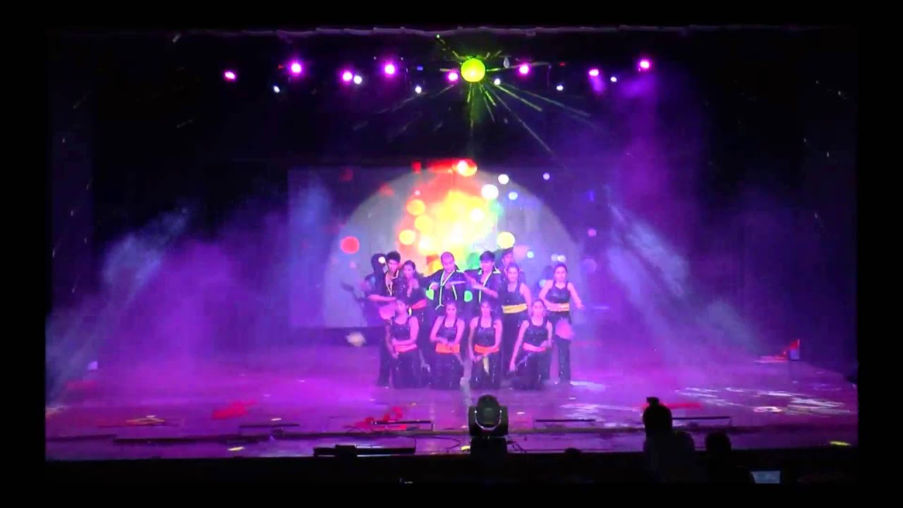 EBCD 2014 - Friendship theme group dance routine - YouTube