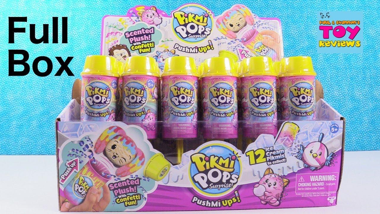 Push Mi Ups Lot of 4 BN! Pikmi Pops Surprise