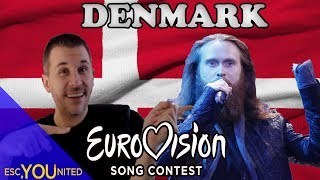 Denmark in Eurovision: All songs from 1957-2018 (REACTION)
