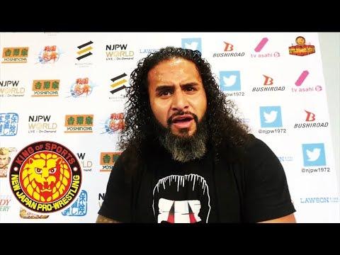 G1 CLIMAX 28 Night7 (July 22) - Post-match Interview [1st match]