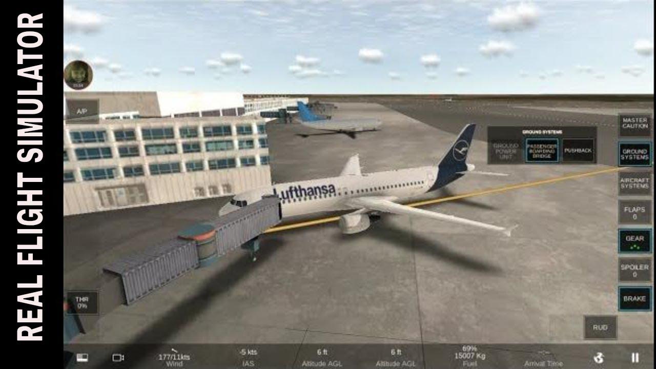 JFK Door Parking | Real Flight Simulator RFS Rortos | Android Gameplay