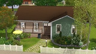 Sims 3 House Building - Family Cottage