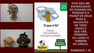 Catecismo para Crianças Pequenas - Pergunta 35