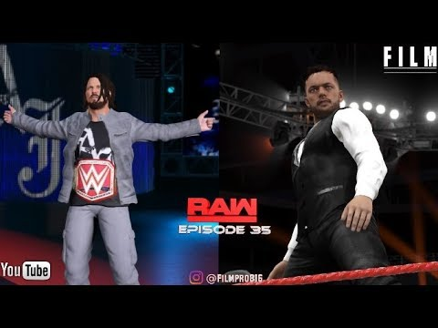 "WWE 2K17 Monday Night Raw Story Mode Episode 35""Royal Rumble After Math"""