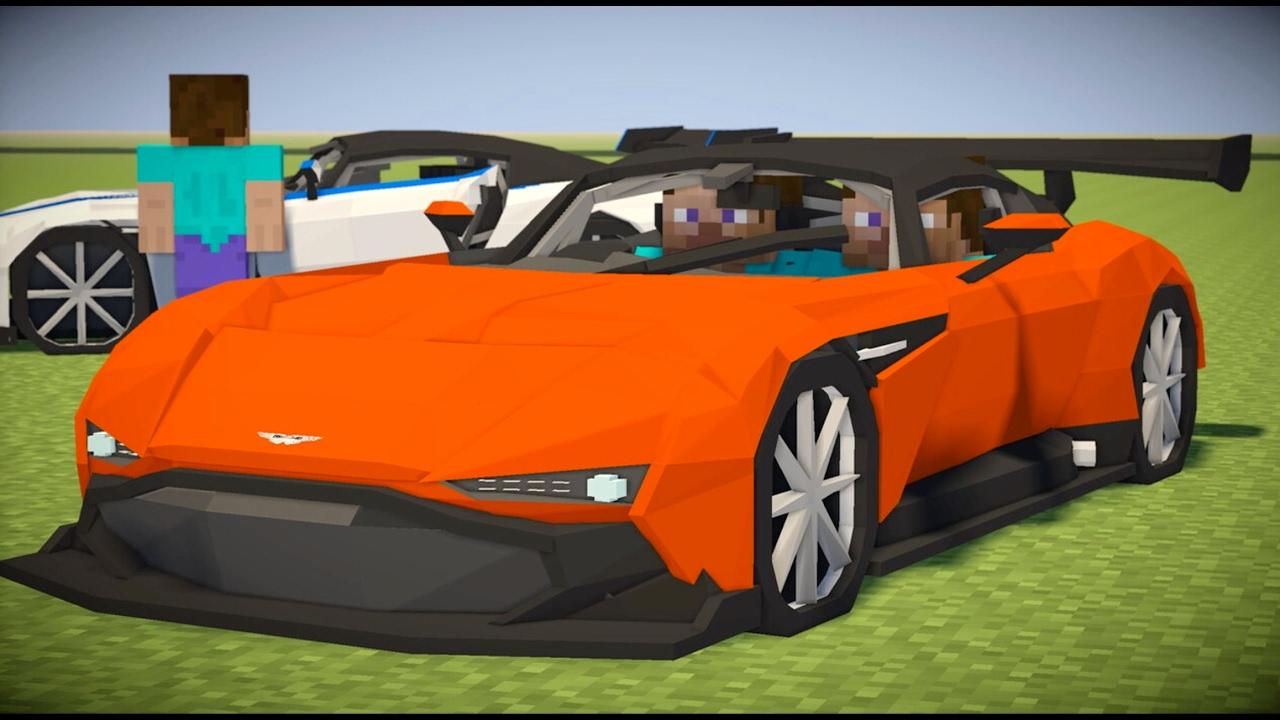 Minecraft Mod Spotlight Aston Martin Vulcan Youtube