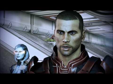 Mass Effect 3 David Archer from Overlord DLC Both Scenarios (1080p)